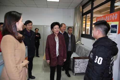 国家民委副主任、党组副书记刘慧一行到校调研指导工作