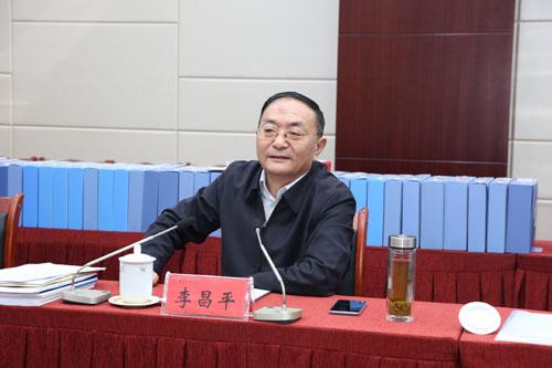 国家民委副主任、党组成员李昌平到我校开展意识形态工作专项督查